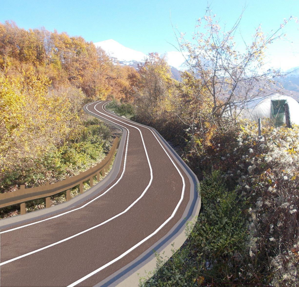 ANAS Lazio – progetto per adeguamento strada comunale Santa Giusta - Amatrice